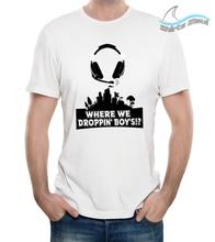 Fort BW custom printed Short Sleeve T-shirt, original design from Hawaii Free shipping Harajuku Tops t shirt
