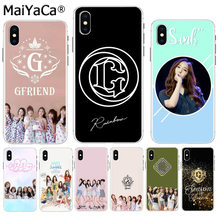 MaiYaCa GFriend Kpop Original Phone case cover for Apple iPhone 8 7 6 6S Plus X XS max 5 5S SE XR Mobile Cover(China)
