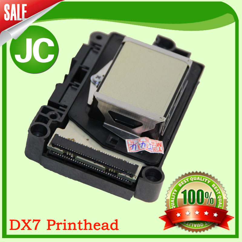 free shipping!! Ep older not encrypted five 7 generation F189010 silver surface, Eco-solvent DX7 printhead printer head