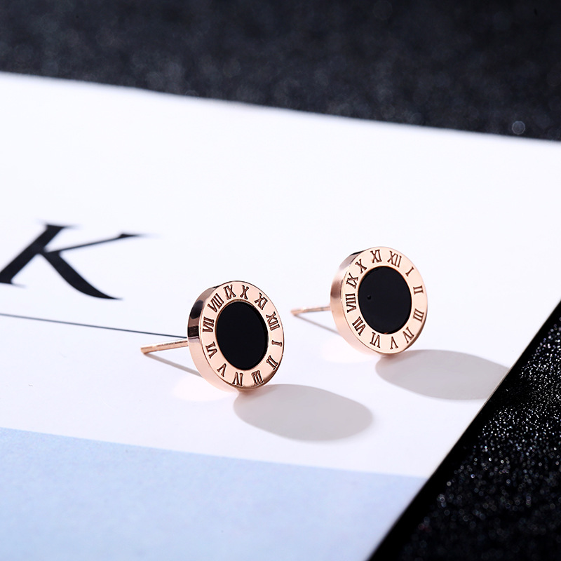 Furniture Radient Fashion Big Brand G Letter Earrings Luxury Full Letters Rose Gold Fashion Titanium Steel Hypoallergenic Earring Wedding Party