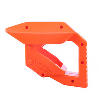 Worker f10555 3D Printing Pull down Stock for Nerf Rival XV 700 Orange Parts For Nerf Gun Modification