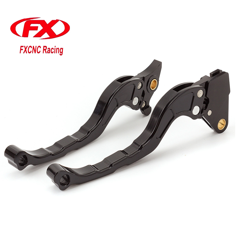 FX Aluminum Motorcycle Brake Clutch Lever For Yamaha EGO Motorbike Brake Lever Clutch Handle Moto Accessories 1 pair black aluminum motorcycle clutch brake lever motorbike handlebar brake lever for yamaha yzf r6 2005 2008 motorcycle parts