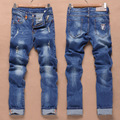 High-end Men's Brand Of Jeans Men's Casual Jeans High-grade Washing Jeans Men's Cultivate One's Morality