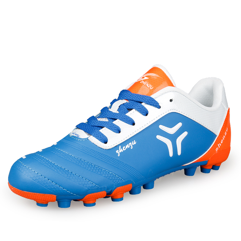 2018 Professional Soccer Football Shoes for Men Outdoor Long Spikes AG Soccer Cleats Athletic Trainers Sneakers for Teenage Boys