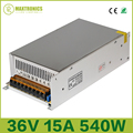 Beste prijs 36 V 15A 540 W Universal Gereglementeerde Stroomvoorziening voor CCTV Led Radio Gratis verzending