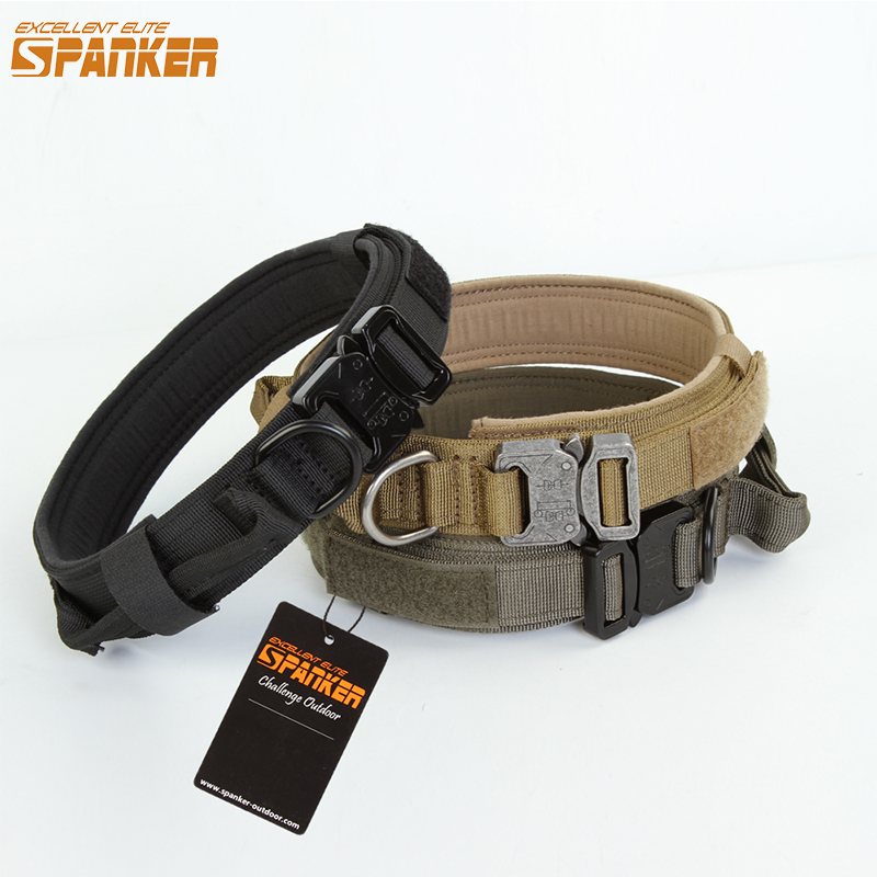 EXCELLENT ELITE SPANKER Dog Collar Pet Collar Dog Tactical Dog Collar Training Collars For Dog With