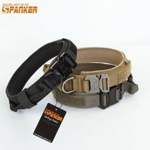 EXCELLENT collier de chien ELITE SPANKER collier pour animaux de compagnie collier de chien tactique colliers de dressage pour chien avec boucle en métal libération rapide