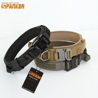 EXCELLENT ELITE SPANKER Dog Collar Pet Collar Dog Tactical Dog Collar Training Collars For Dog With Metal Buckle Quick Release