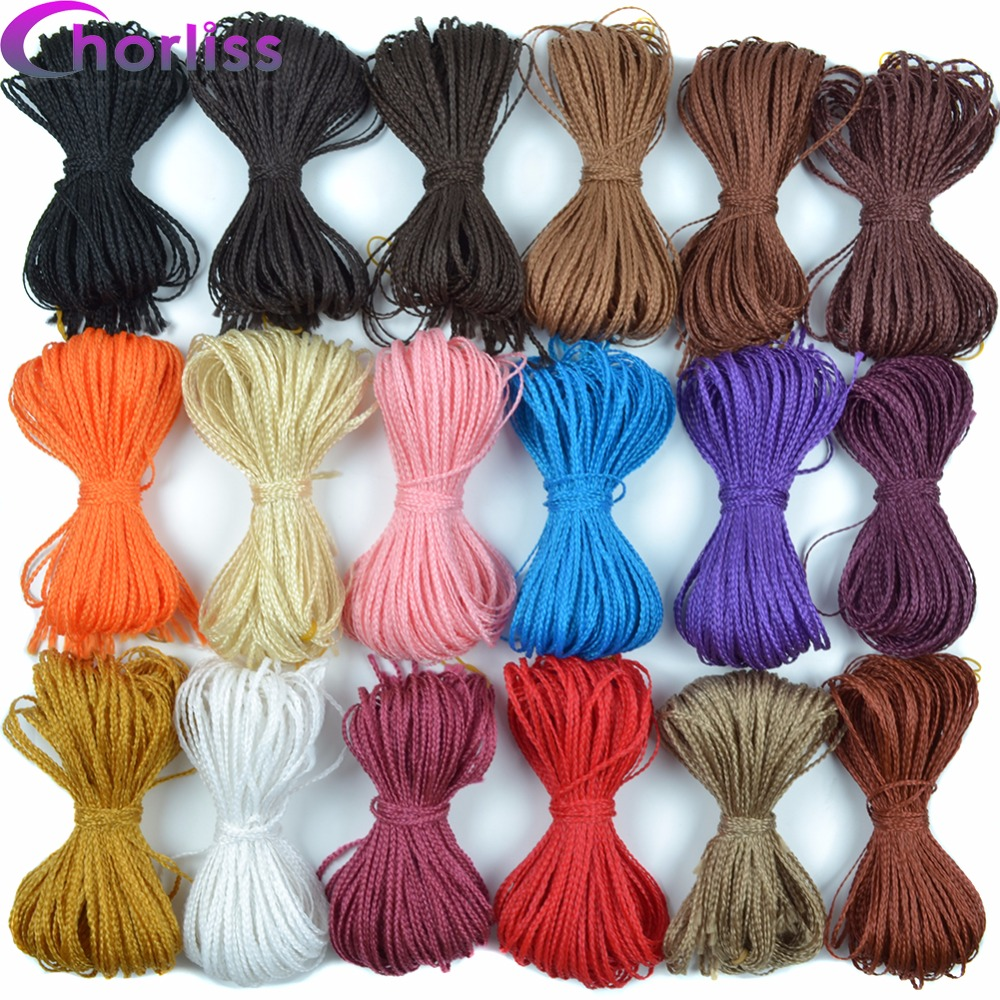 Chorliss Zizi Braids Crochet Box Braids Colored Synthetic Hair Extensions 28''Bug Gray Blonde Crochet Hair 28 Strands/Pack 45g(China)