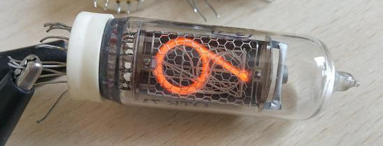 FREE SHIPPING  IN14 Russian Glow Tube Nixie In14, Used, The Tube Is Basically New