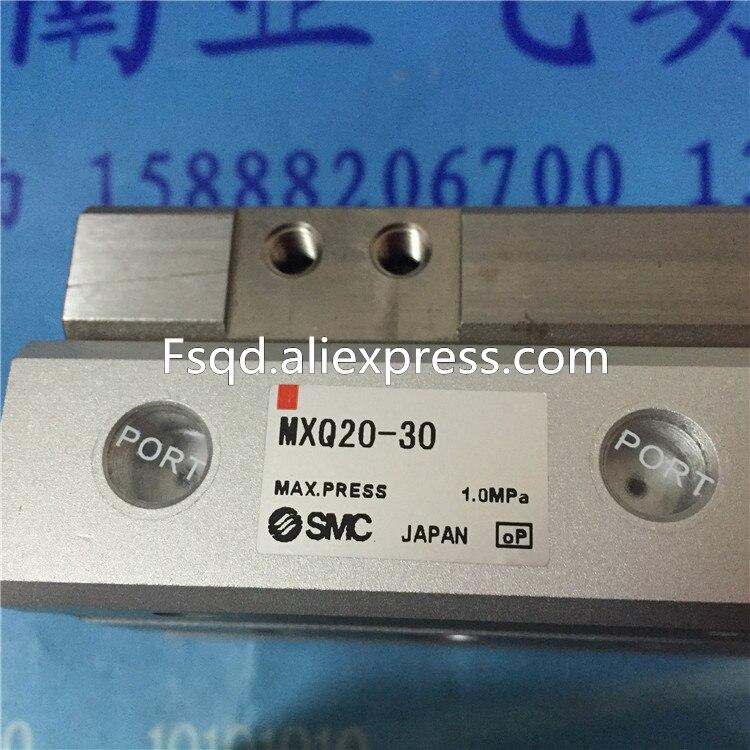 где купить MXQ20-10 MXQ20-20 MXQ20-30 MXQ20-40 MXQ20-50 SMC air slide table cylinder pneumatic component MXQ series по лучшей цене