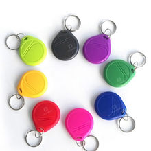 UID Changeable S50 1K 13.56MHZ NFC Card IC Block 0 Rewritable Blank Card Copier RFID Key Token Tag keyfobs Ring Access Control(China)
