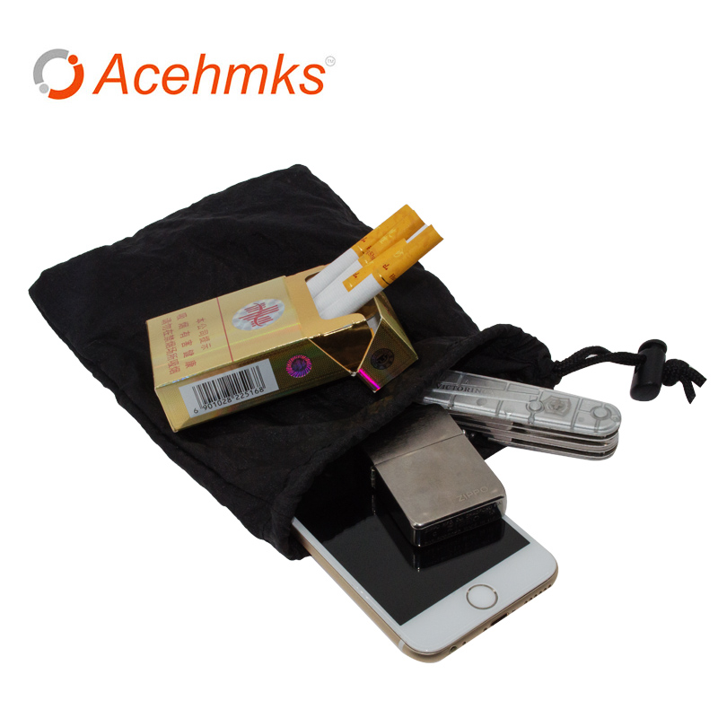 Outdoor Camping Hammock Bag Storage Bags Factory Sale Ultralight Portable Nylon material 6 Pieces a lot 20X14 CM 10 Gram ACEHMKS