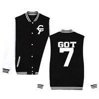 kpop GOT7 Harajuku hoodies Sweatshirts Women/men Winter Casual Hoodies GOT7 Kpop Women's Plus Size XXXXL k pop warm clothes