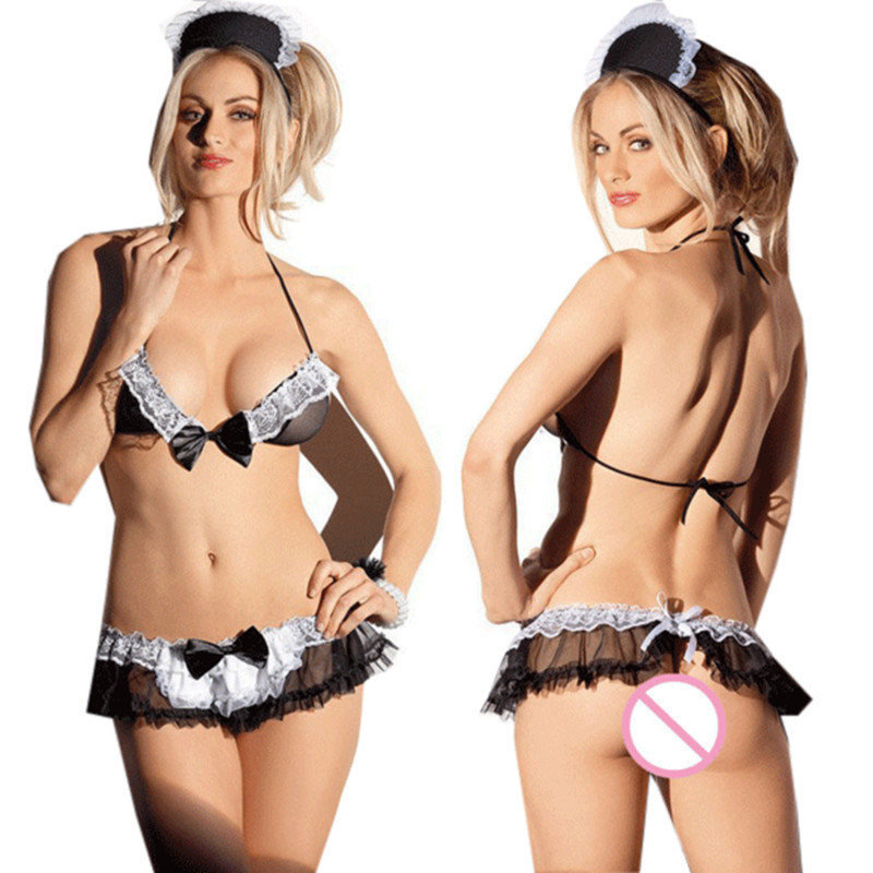 lady sexy lingerie hot nurse uniform erotic font b sex b font maid maid lingerie set