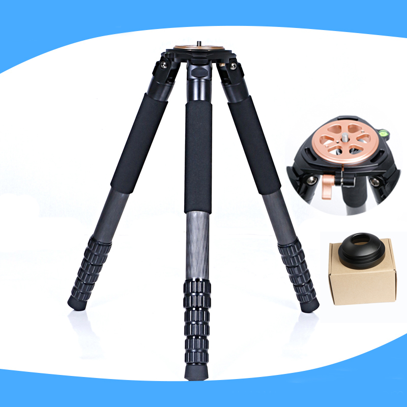 4-section DSLR Video Camera Carbon Fiber Professional Tripod with 80mm Bowl For Digital SLR DSLR Camera Stand objective pet workbook with answers page 5