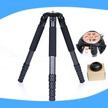 4 section DSLR Video Camera Carbon Fiber Professional Tripod with 80mm Bowl For Digital SLR DSLR
