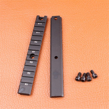 Ohhunt Hunting Accessories 2 long pieces G36 Series Mount Base Ring Picatinny Weaver Rail Base 20mm
