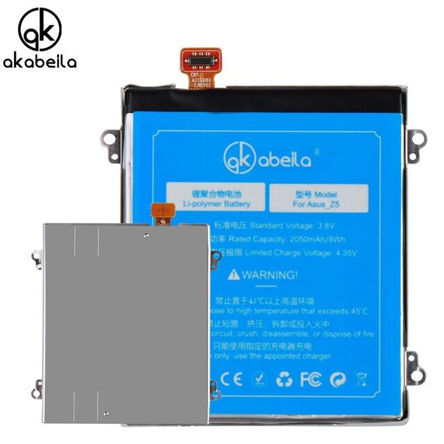 AKABEILA C11P1324 Phone Li-ion Battery For ASUS ZenFone 5 A500G Z5 A500 A500CG A501CG A500KL t00j Batterie Replacement Batterij