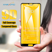 9D Screen Protector Tempered Glass For Huawei P20 Lite Pro Protective Film