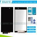 Lcd de pantalla para sony xperia z1 l39 l39h c6902 c6903 pantalla LCD Táctil Digitalizador Asamblea Pantalla + Adhesivo + herramientas