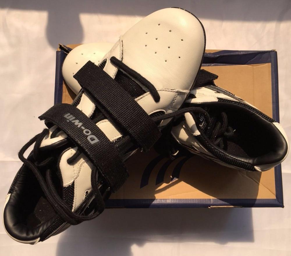 3f7455eaf Professional Genuíno Sapato de Couro De Levantamento De Peso levantamento  de Peso Treinamento de Agachamento Sapatos Para Homem E Mulher Sapatos De  ...