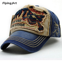 Flying Art Sale Hip Hop Gd Unisex Solid Ring Safety Pin Curved Hats Baseball Cap Men