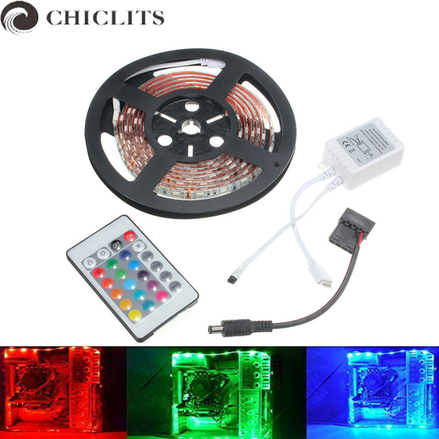 Chiclits computer led strip lights smd 5050 waterproof rgb led chiclits computer led strip lights smd 5050 waterproof rgb led flexible lights dc12v lampada tira led aloadofball Choice Image