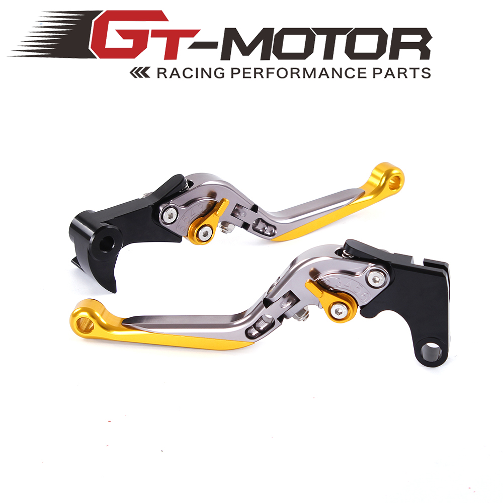 GT Motor - R15 Y-688 Adjustable CNC 3D Extendable Folding Brake Clutch Levers For YAMAHA YZF R1/R1M 2015-2016 adjustable long folding clutch brake levers for hyosung gt250r gt 250 r gt r 250 06 07 08 09 10 2010 gv 250i aquila classic