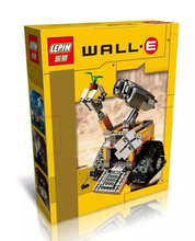 Lepin 16003 film theme 687pcs Idea lovable robot WALL-E Building Blocks Minifigure with legoe Kid Gift Bricks
