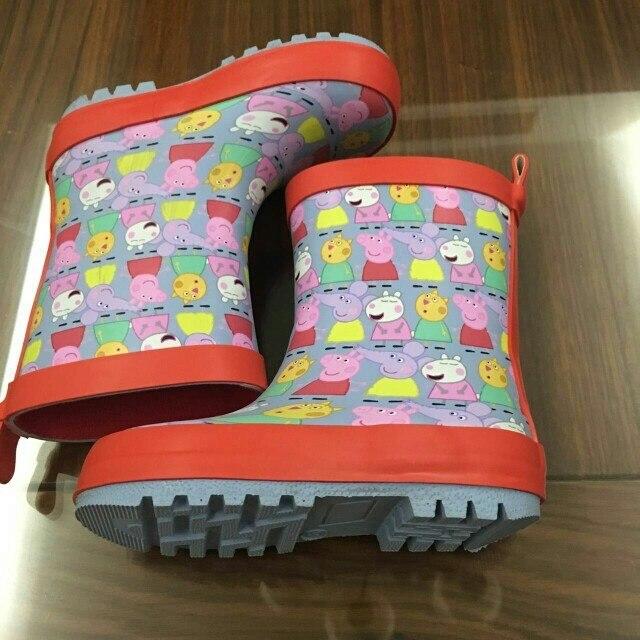ЧИКО Дети Малышей детские Девушки Дождь Сапоги, новые Детские Резиновые Rainning Сапоги, ноги Длиной от 13.6 см до 19.2 см