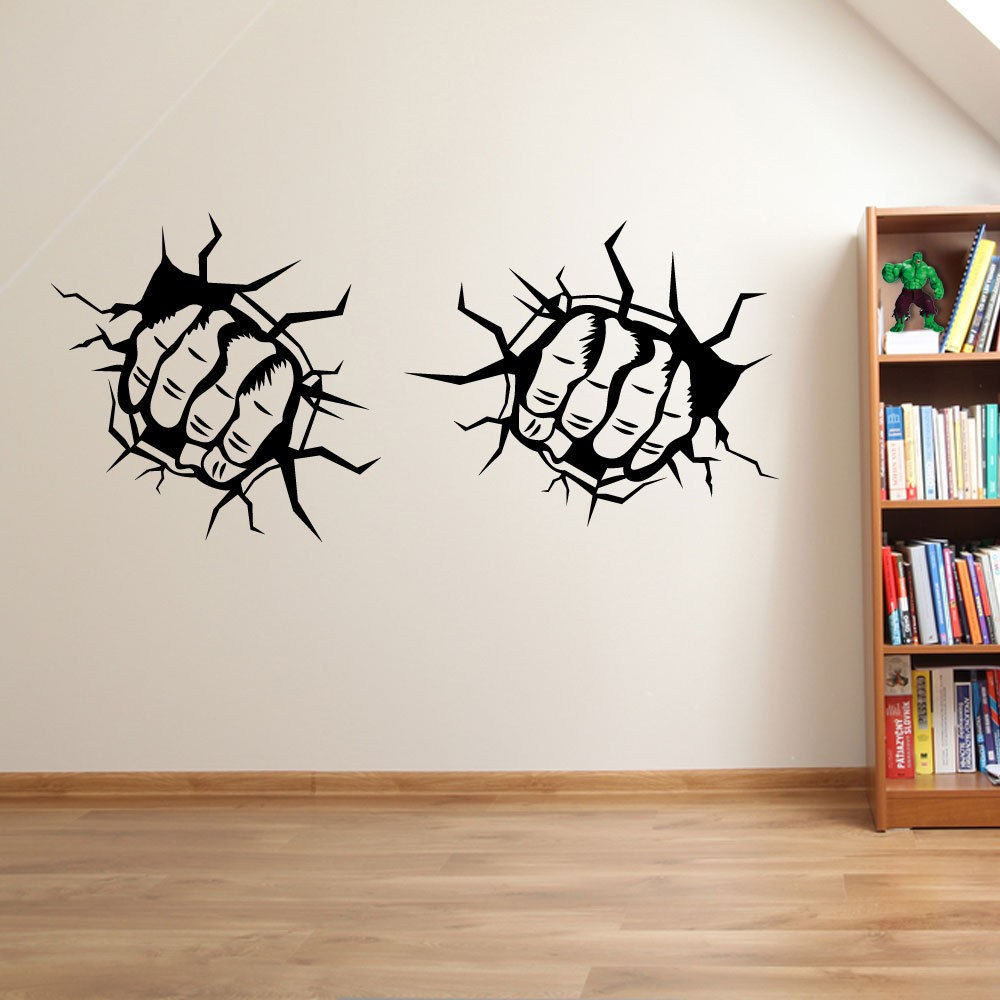 Online Get Cheap Wall Sticker Fist Aliexpresscom Alibaba Group - Custom vinyl wall decals