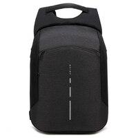 BAIBU New Men Backpack Anti theft Backpack Big Fashion 15.6inch USB Charge Laptop Backpack Men Travel Waterproof School Bag 2018