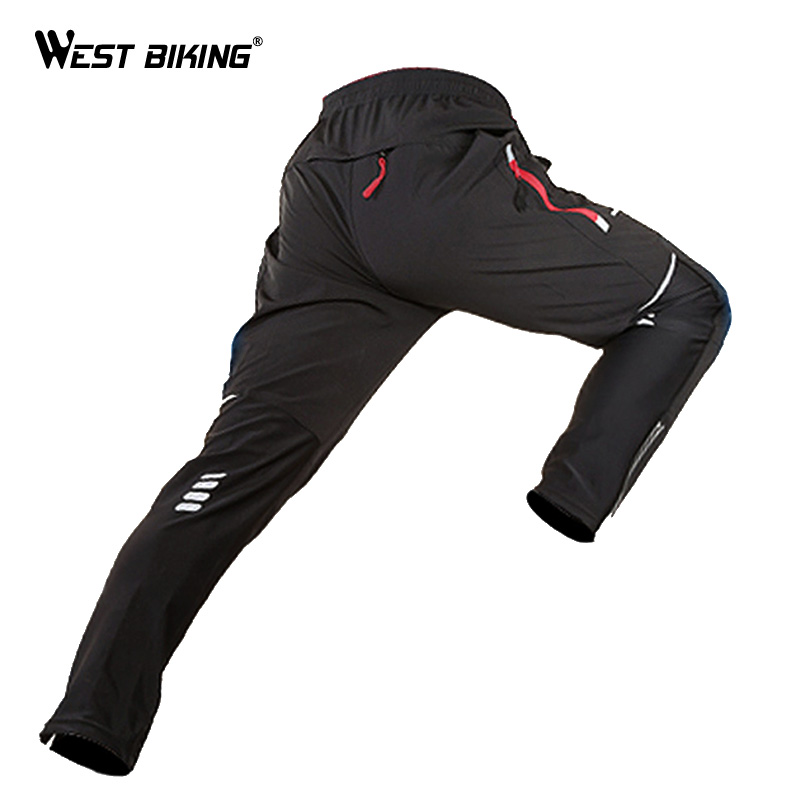 WEST BIKING Bicycle Pants Spring Riding Pants Male Mountain Long Cycling Jerseys Quick Drying Sport Equipment Bicycle Bike Pants