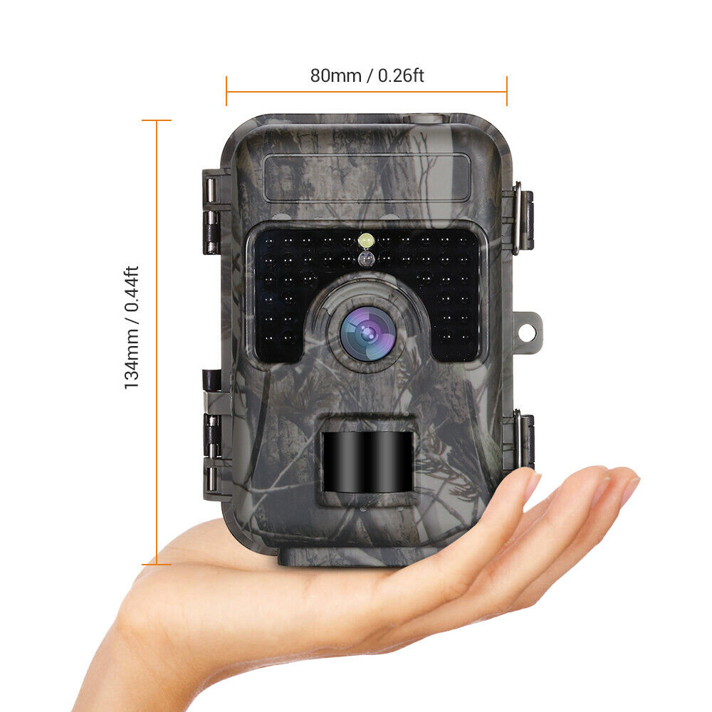 Image 4 - 1080P 16MP HD Trail Hunting Camera Farm Wlidlife Scout Infrared Night Vsion LED CAM Motion Detection IP66-in Hunting Cameras from Sports & Entertainment