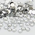 1000 pcs 3mm ss12 Clear Crystal Resin Round Rhinestone Flatback Rhinestones 14 Facets DIY Nail Art Decoration Beads N01