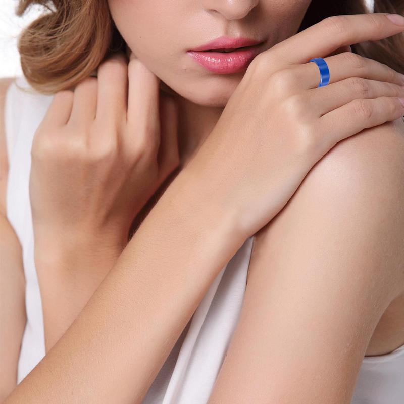 Vivari новый бренд ecer001b керамические кольца для женщин с