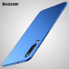 For Huawei P30 Lite Case Cover Business Ultra Slim Hard PC B