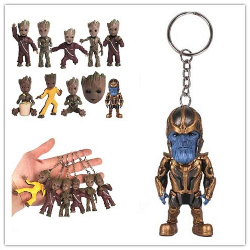 1 Pcs Guardians Of the Galaxy 2 Árvore do Homem Boneca Brinquedos Figura de Ação Anime Q versão PVC Figura Coleção Modelo brinquedos Para Crianças
