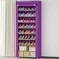 Shoe cabinet Shoes rack storage large capacity home furniture DIY simple 8 gird