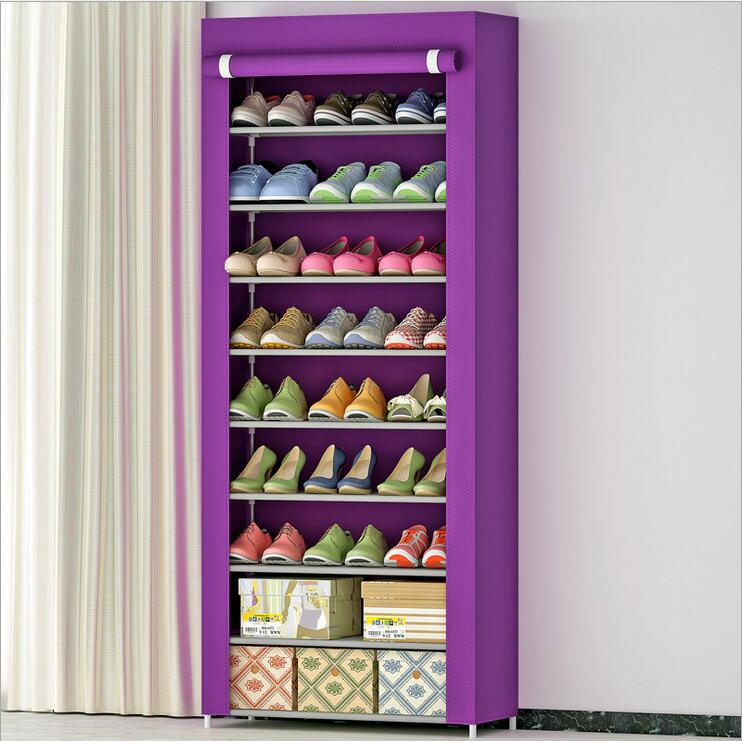 Shoe cabinet Shoes rack storage large capacity home furniture DIY simple 8 gird free shipping oxford homestyle shoe cabinet shoes racks storage large capacity home furniture diy simple