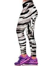 Tiger 3D Print Leggings