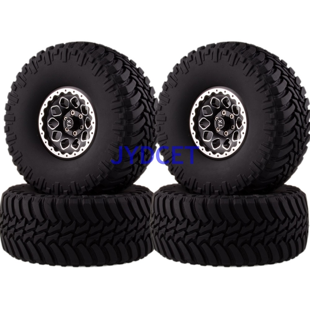 2021-3033 Aluminum 2.2 Beadlock Wheels Rims & Super Swamper Rocks Tyre 128mm 4pcs For RC 1/10 Climbing Rock Crawler2021-3033 Aluminum 2.2 Beadlock Wheels Rims & Super Swamper Rocks Tyre 128mm 4pcs For RC 1/10 Climbing Rock Crawler