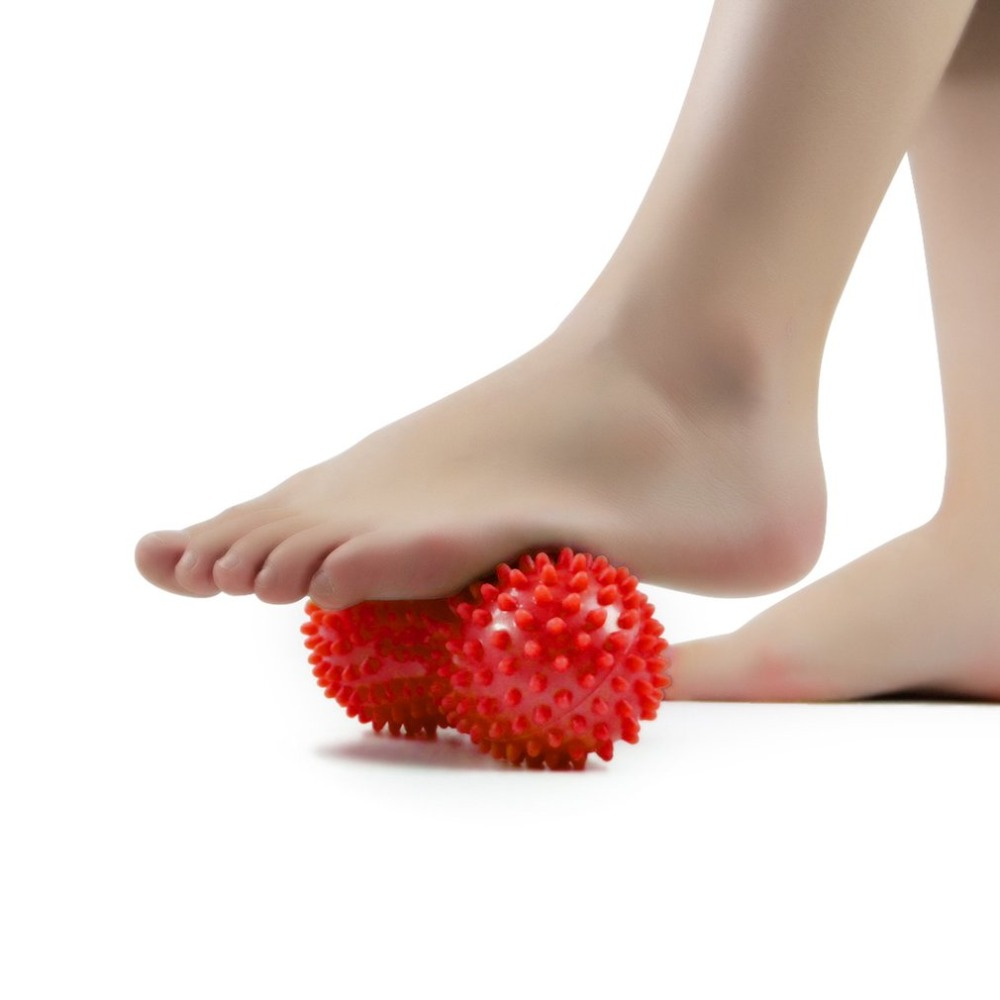 Galleria fotografica Peanut Shape foot massager Massage Ball Yoga Sport Fitness Muscle stimulator Stress Health Care Supplies extender Trigger Point