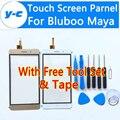 Maya Bluboo Tela Sensível Ao Toque 100% de Alta Qualidade Nova Digitador do Toque De Vidro Substituição Do Painel Para Bluboo Maya 5.5 Polegada