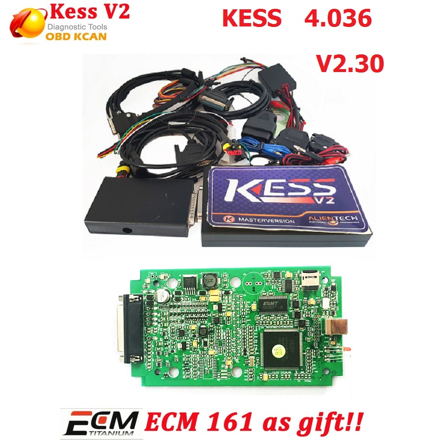KESS V2 V2 30 kess v4 036 MASTER OBD2 Manager ECU chip tuning No