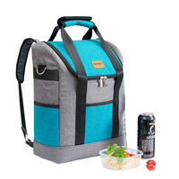 Large Capacity Insulation Bags Oxford Wine Lunch Tote Bag Bottle Thermal Backpack Food Fresh Keeping Picnic Cooler Package Stuff