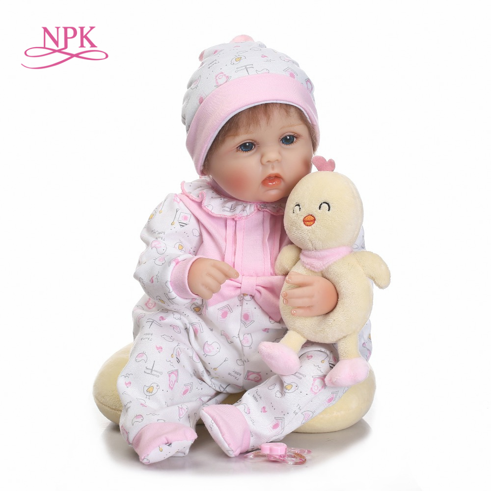 Реалистичная детская кукла Reborn 40 см силиконовая кукла ручной работы