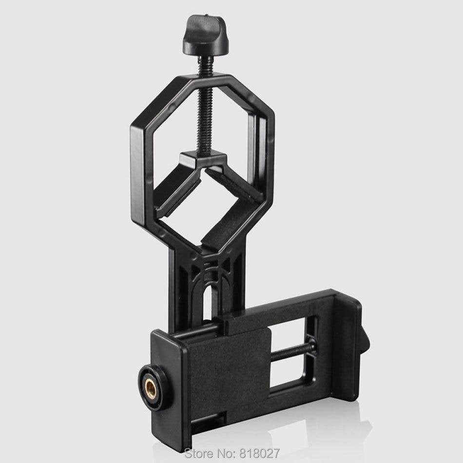Астрономических бинокль монокуляр телескоп универсальный держатель телефона клип соединения Бард стент Штатив Адаптер Материал ABS