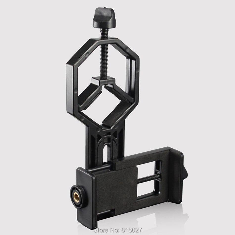 Astronomique binoculaire monoculaire télescope universel Téléphone clip holder connexion Barde stent trépied Adaptateur Montage Matériel ABS
